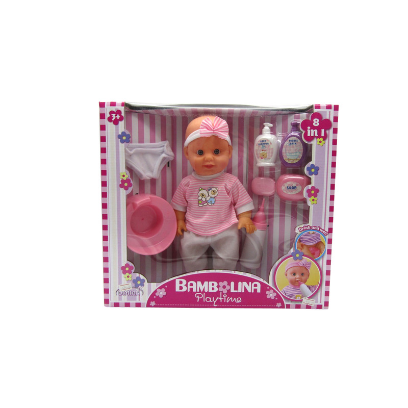 Bambolina Playtime Baby Doll With Accessories