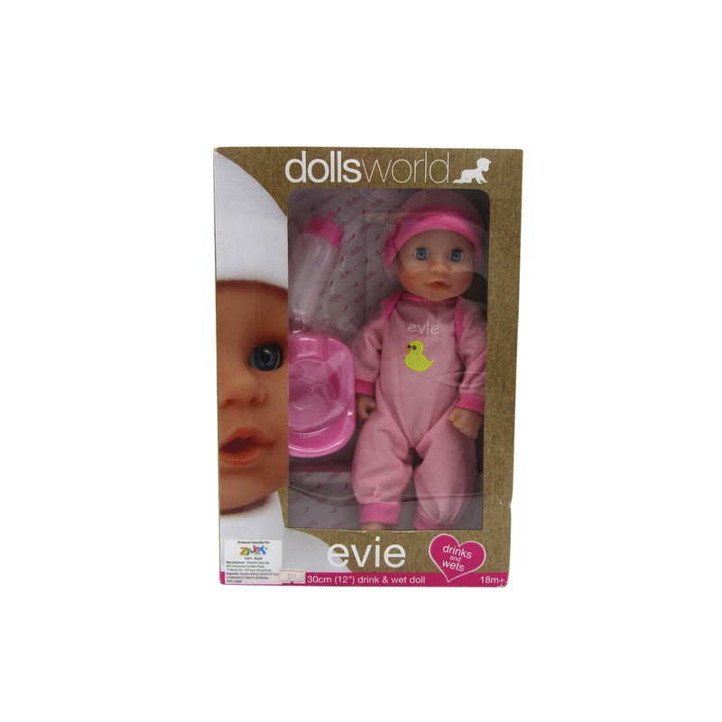 Baby Doll Evie Drink & Wet