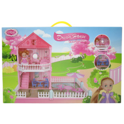 The Dream House For One Princess Dollhouse