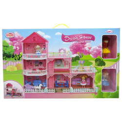 The Dream House For Two Princesses Dollhouse