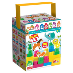 Lisciani Baby Building Blocks The Animals 36 Pieces