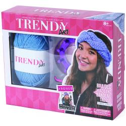 Trendy Art Braided Headband