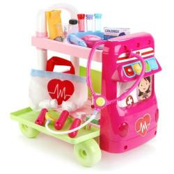 Multi Functional Medical Doctor Trolley Cart