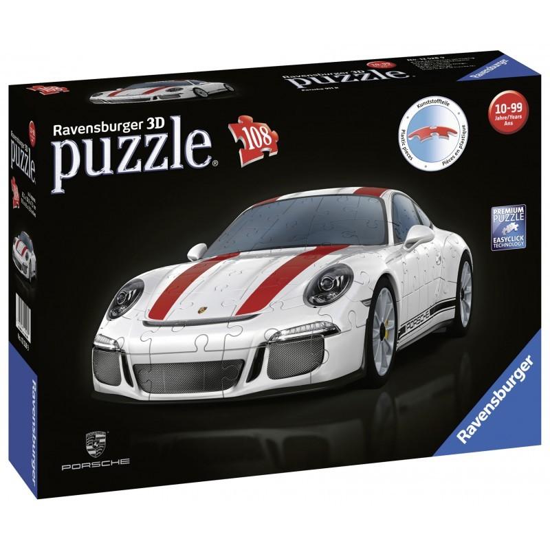 White Porsche 911 - 108 Pieces