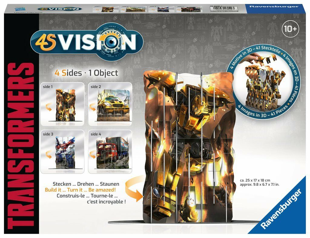 4S Vision Transformers - 41 Pieces