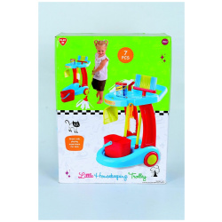 Little House Keeping Trolley Set With 7 Pcs