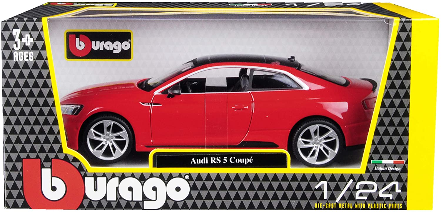 Bburago Audi Coupe Red Car With Black Top Die Cast Metal Cars Trucks Toys Vehicles Rc Toys In Egypt Kassem Store