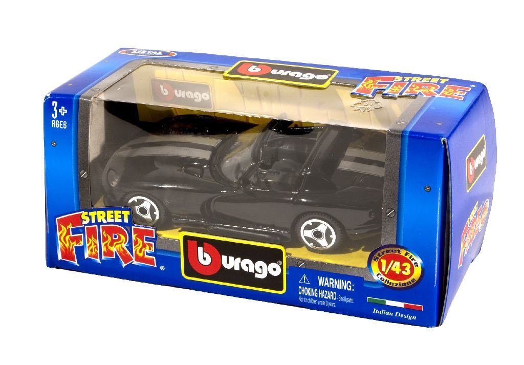 Street Fire Cars Die-Cast Metal
