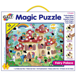 Fairy Palace Magic Puzzle 50 Pcs