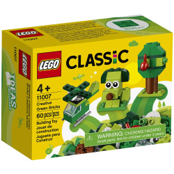 Classic Creative Green Building Blocks - 60 Pieces