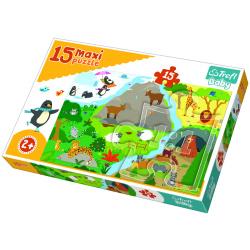 Animals Houses Floor Maxi Puzzle