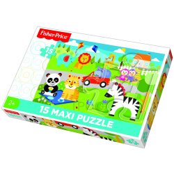Fisher Price Picnic With Friends Floor Puzzle 15 Pieces