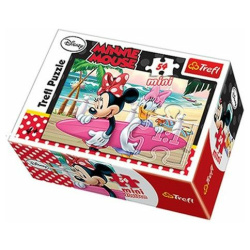 Holidays Minnie'S Vacation Mini Puzzle 54 Pieces