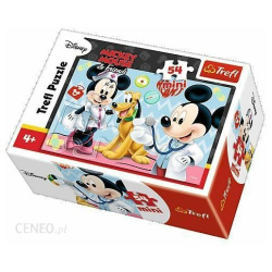 Doctor Mickey Mouse Mini Puzzle 54 Pieces