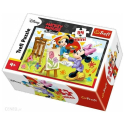 Artst Mickey Mouse Mini Puzzle 54 Pieces
