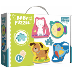 Baby Pets Puzzle - 4 Shapes