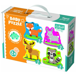 Baby Animal Forest Puzzle - 4 Pictures
