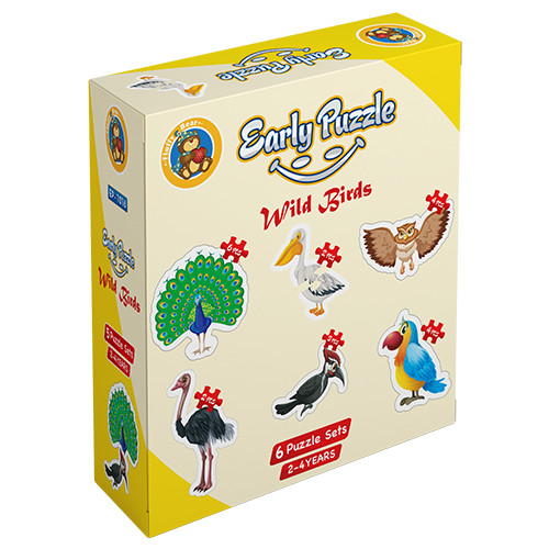 Early Puzzle – Jungle Birds
