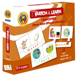 Match & Learn Puzzle – Homonyms