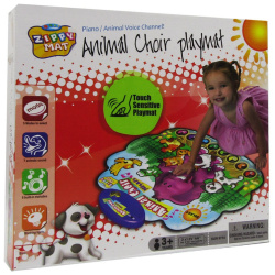 Animal Choir Playmat With Lights And Different Melodies