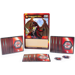 Deluxe Battle Brawlers Card Collection With Jumbo Foil Dragonoid Card