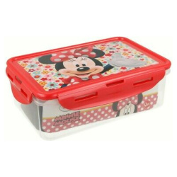 Disney Minnie Mouse Rectangle Food Container 1070 ML