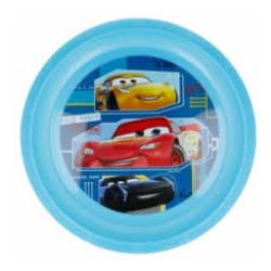Disney Mcqueen Flat Plate