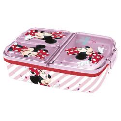 Disney Minnie Mouse Multi Compartment Sandwich Box