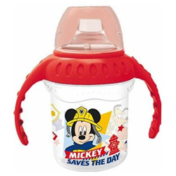 Disney Mickey Mouse Silicone Sippy Training Cup 250 ML