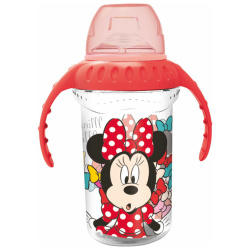 Disney Minnie Mouse Silicone Sippy Tumbler 330 ML
