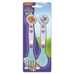 Disney Paw Patrol 2 Pieces Blue Cutlery Set