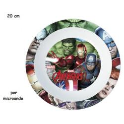Disney Avengers Microwave Deep Plate 20 CM