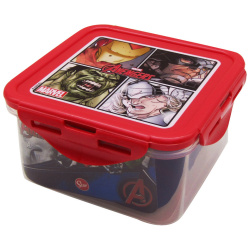 Disney Avengers Square Lunch Box 730 ML