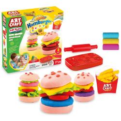 Hamburger Play Dough Set