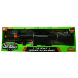 Weapon Compact Mission Riffle with Sound & Light