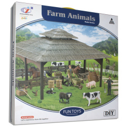 Fun Toys Farm Animals Model Series with equipments