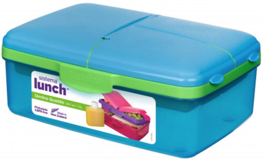 Quaddie Lunch Box With Water Bottle - 1.5L