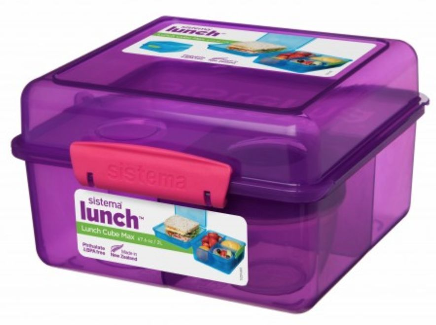 Cube Max Lunch Box With Yogurt Pot - 2L