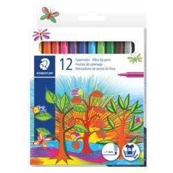 12 Fibre Tip Flowmaster Colors