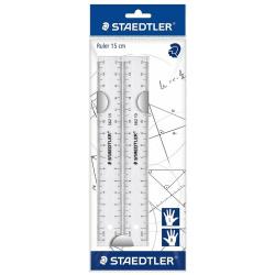 2 Rulers 15 cm