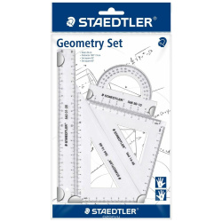 Geometry Set with 4 Pieces