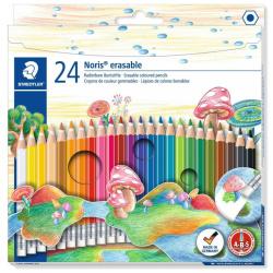 24 Erasable Colouring Pencils