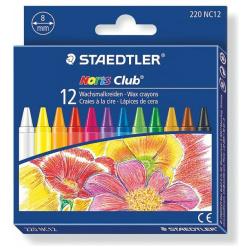 12 Noris Wax Crayons