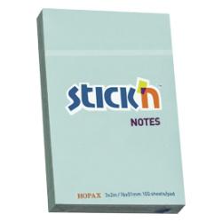 Sticky Notes Blue - 7.6X5.1 Cm