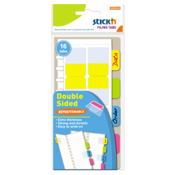 Sticky Notes Filing Tabs Double Sided - 2.5X7.2 Cm