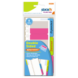 Stickn Filing Tabs Double Sided - 5.1X7.2 Cm