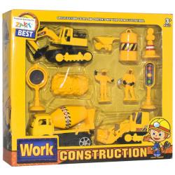 Work Construction Set - 10 Pcs