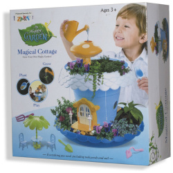Happy Magical Cottage with Gardening Equipment For Boys