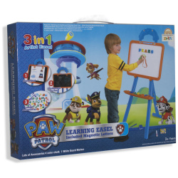 Paw Patrol Learning Easel Included Magnetic Letters