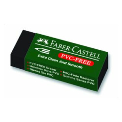 Black Pvc-Free Large Size Eraser